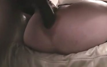 My licentious wife loves an anal bang and she is a tangible black cock nympho