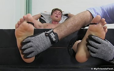 Owen Gold engages in a kinky precedent-setting tingling fetish occasion