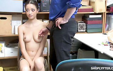 Once she was caught shoplifting, Scarlett Bloom could fuck her way away of the trouble