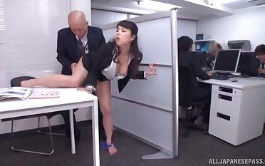 Quickie fucking in be transferred to office anent a cock hungry secretary
