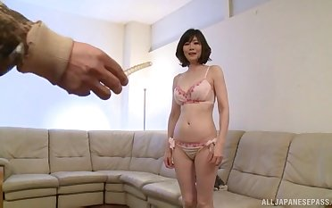 Unassailable blowjob and cock riding sex be worthwhile for a hot Tokyo mature
