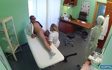 Naughty Festival Be enamoured of Gets Doctor's Attention And His Cum
