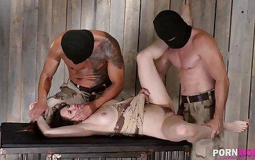 XXXtreme BDSM humiliation makes subby Samantha Bentley battle-cry & cream GP908