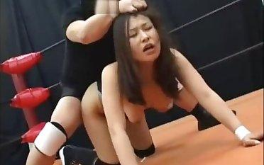 Excellent mature scene Wrestling advanced