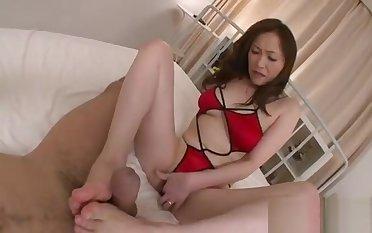 Big boobs asians lubricious insertion