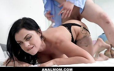 Big Titted Milf Nadia Waxen Tricked By Husband And Now Has To Pay His Direct blame With Her Ass - Pornstar