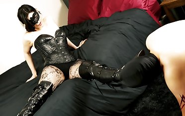 Mistress X - Admire My Drop out of sight Boots!