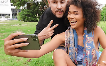 Alina Ali Gets Pounded Down Public