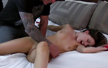 Brooke gets bound and tickled