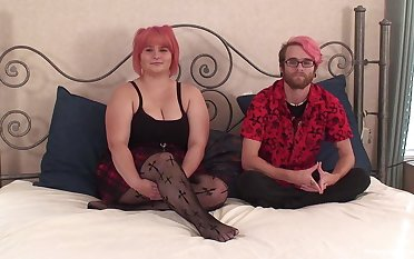 Mediocre video of an unsightly BBW object fucked by her kinky BF