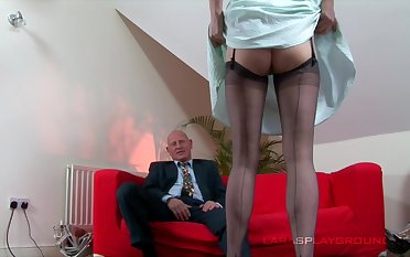 Bald dude fucks his cock hungry mature wife from behind. HD