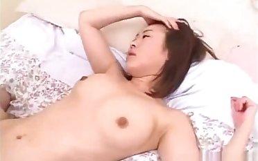 japane schoolgirl gets anal creampies greatest extent double penetration fucks