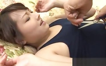 Racy hot and wild Japanese sex