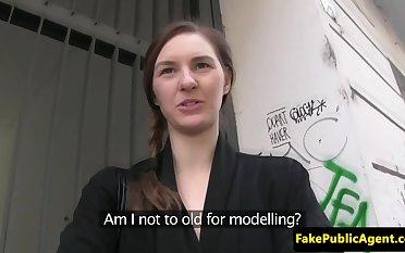 Pulled girlnextdoor public fucked for cash