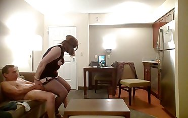 Heather play with Dildo while filmed b4 heuses her frowardness ass