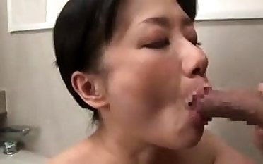 Doggystyle sex with his headed in all directions Japanese girl