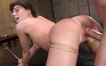 Hardcore sex in doggy extreme be required of insolent Lexi Foxy