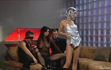 Dreams come true for Kristi Lust compare arrive this memorable foursome