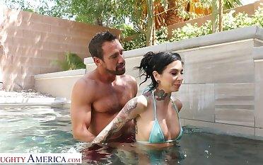 Good-looking dear boy Johnny castle bangs sex-starved tattooed nextdoor chick Joanna Angel